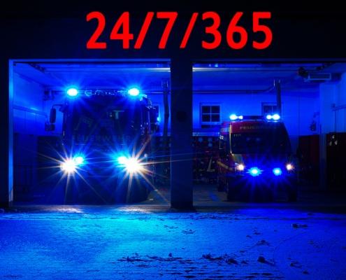 #bluelightfirestation